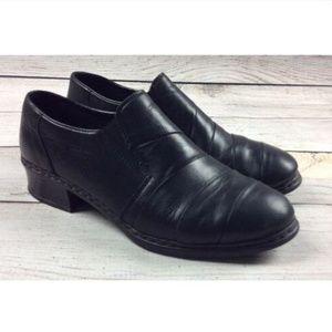 Reiker Antistress Leather Slip On Comfort Shoes